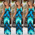 New Women Ladies Evening Party Boho Sexy Summer Beach Long Maxi Dress Sundress