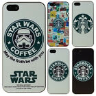 Hot Star Wars Coffee Starbucks Design Phone Case for iPhone SE 4 5 s 6s 7 8 plus $4.97 CAD