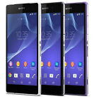 Sony Ericssion Xperia Z2 D6503 Purple/Black/White -16GB Unlocked GSM Smartphone