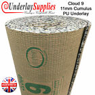 Cloud 9 Cumulus 11mm PU Carpet Underlay Brand Leader Quality UK Manufactured