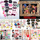 Party Wedding Christmas Photo Booth Props Mustache On A Stick Photography