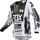 Fox Racing 2017 180 Monster/Pro Circut SE Jersey Wht/Blk/Grn Adult MX Offroad