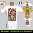 T-SHIRT UOMO/DONNA THE BEATLES ROCK POP BAND LOGO HAPPINESS PEPPER - MEN/WOMAN