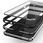 Shockproof Luxury Clear Hard Back Metallic Bumper Case Cover for iPhone 6 7 Plus