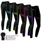 Women Cycling Tights Padded Ladies Compression Leggings Cycle Tights / Trousers