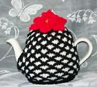 Hand Knitted 2 Cup Small Jacquard Tea Cosy / Cozy 🌟 New Colours Added 🌟