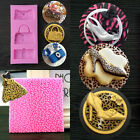Leopard High-heel Shoes Bag Baking Cookies Fondant Cake Mold Tool Silicone Mat