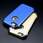 7 Carbon-Fiber Styles FUSION RUBBERIZED SKIN COVER CASE For Iphone 5/6/7 PHONE