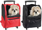DELUXE BACKPACK AIRLINE DOG CARRIER W/WHEELS - UP TO 18 LBS.
