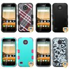 For Huawei Union Y538 Hybrid TUFF IMPACT Phone Case Hard Rugged Cover