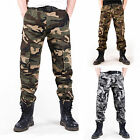 Outdoors Fashionable  Multi Pockets Army Tactical Camouflage Leisure Cargo Pants