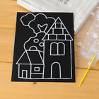 Colorful Scratch Art Paper Magic Painting Paper with Drawing Stick Kids Toy   LE