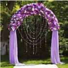 "90"" x 55"" White Decorative Metal Wedding ARCH Party Ceremony Decorations Supply"