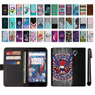 For OnePlus 3 3T Three Design Flip Wallet Card POUCH Case Phone Cover + Pen