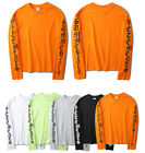 NEW Yeezy Oversize Pullover Sweatshirt Kanye West Long Sleeve Sweats Top Shirts