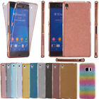 Shockproof 360° Silicone Protective Clear Case Cover For Sony Xperia Smart Phone