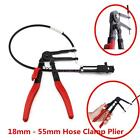 Professional Autos Wire Long Reach Hose Clamp Plier Tool For Fuel Oil Water Pipe