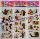 Puffy Stickers Full Set or Any 4 Zootopia Frozen Winnie Pooh Toy Story US Seller