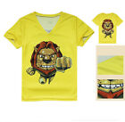 Lion Sports Cycling Bike Jersey V-Neck Top T-Shirt Tee Quick-Drying