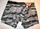 Mens New  Underwear Equipo   Boxer Brief  2 Pack Multi Color and Grey