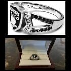 OAKLAND RAIDERS WOMENS RING SUPER BOWL QUALITY LADIES RAIDER NATION RING