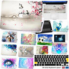 """3IN1 Hard Painting Rubberized Case EU/UK Cover SP For Macbook Pro13""""15""""Touch Bar"""