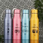 Cycling Water Bottle Bike Bicycle Stainless Steel Water Bottle Vacuum Thermos