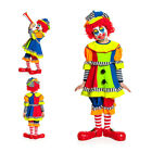 Clown Kostüm Kind Clownkostüm Kinder Clown Mädchen Clownskostüm 116 128 140 152