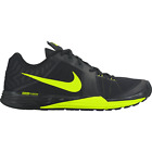 Nike PRIME IRON DUAL FUSION Mens Black Green 008 Lace Up Athletic Running Shoes