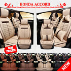 Luxury 5-seats Car Buy Seat Covers Mat For Honda Accord Breathable Flax SP92
