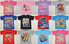 Boy Girl Paw Patrol Thomas Zootopia Shopkins Spiderman Minnie T-Shirts size 1-12