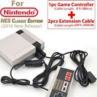 Controller For 2016 Mini  Nintendo NES Classic Edition Or 2M/3M EXTENSION CABLES