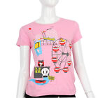 Julius & Friends Paul Frank $52 CAD Pink Julius Jr. Tee Amusement Park T Shirt