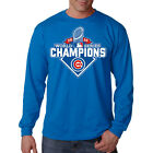 New 2016 World Series Champions Chicago Cubs Graphic Long Sleeve T Shirt
