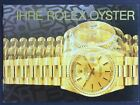 "Rolex Genuine Owners ""IHRE Rolex Oyster"" Book/Booklet/Manual Guide (German)"