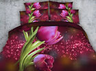 Bossoming tulips 4 Piece bedding set   -5 sizes available