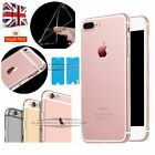 For Apple iPhone 7& 7 Plus Ultra Thin Crystal Clear Case Cover Shockproof Bumper