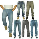 ETO MENS LATEST STRAIGHT LEG DESIGNER JEANS EM549 IN BLUE STONE WASH  RRP £44.99