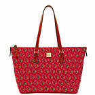 Dooney & Bourke NCAA Louisville Zip Top Shopper