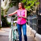 Hi Vis Vest; Women's Safety Vest, Reflective. In Fluro Pink or Yellow