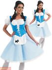 Ladies Dorothy Miss Muffet Goldilocks Bo Peep Costume Adults Book Week Outfit