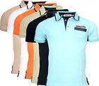GEOGRAPHICAL NORWAY HERREN POLO SHIRT T-SHIRT PIQUE SOMMER KURZARM POLO CLUB SM4