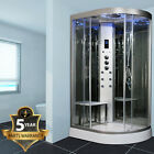 Insignia INS5000 Left Steam Shower & Stool 1200mm x 800mm cabin with AMI essence