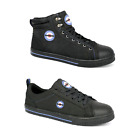Lambretta Steel Toe Cap Work Baseball Style Safety Boots Trainers Shoes Size