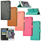 Leather Wallet Card Slot Flip Stand Cover Case For Apple iPhone 5 SE 6 6S 7 Plus