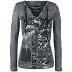Rock Rebel by EMP  Manica lunga donna - No More Rules Longsleeve