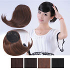 Bado Hair -  Girl Synthetic Oblique Bangs Fringe Hair Pieces Extensions Clip in