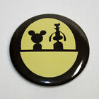 HAUNTED MANSION DOOM BUGGY MAGNET or PIN BUTTON Mickey Mouse Disney Vintage Art