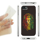 Cover for Apple, iPhone 7,Plus,SE,kind,BOB MARLEY,LION,RASTA HIPPY