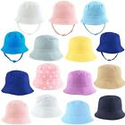 Baby Sun Hat Summer Beach Hat Bucket Cap Newborn Toddler Kids Boy Girl 0-4 Years